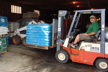 Fertilizer for sale at Ferimix in Jordan, MN by the bag, by the pallet or in Bulk.